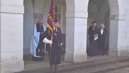 Standard Bearer Mrs Sue Stallard
