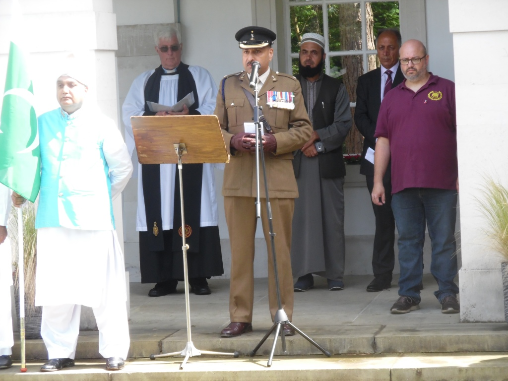 Major Mohammed Naveed of the Armed Forces Muslim Association