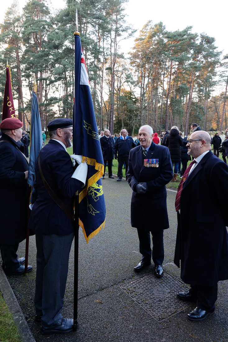 Intelligence Corps Commemorates Comrades Memorialised at Brookwood Military Cemetery