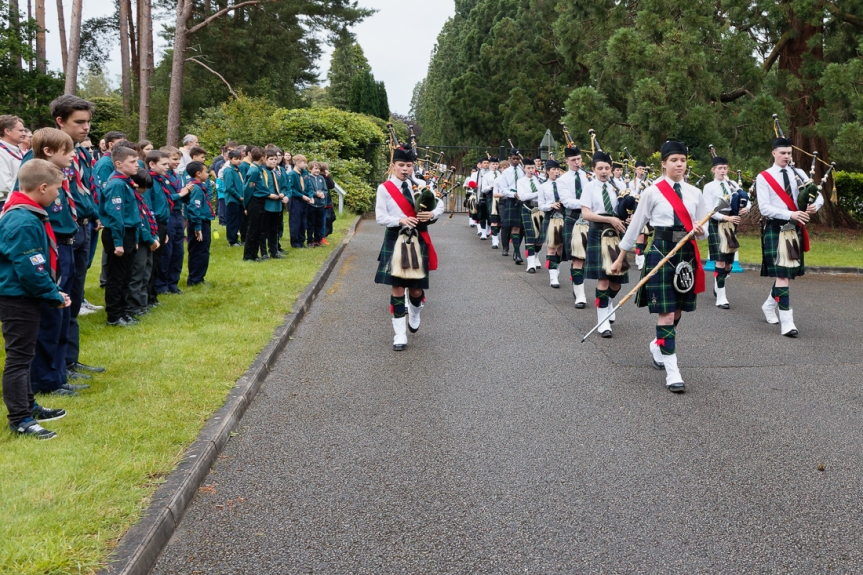 Gordon's School Pipes and Drums