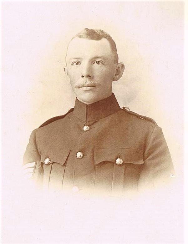 Sergeant Don Humberston